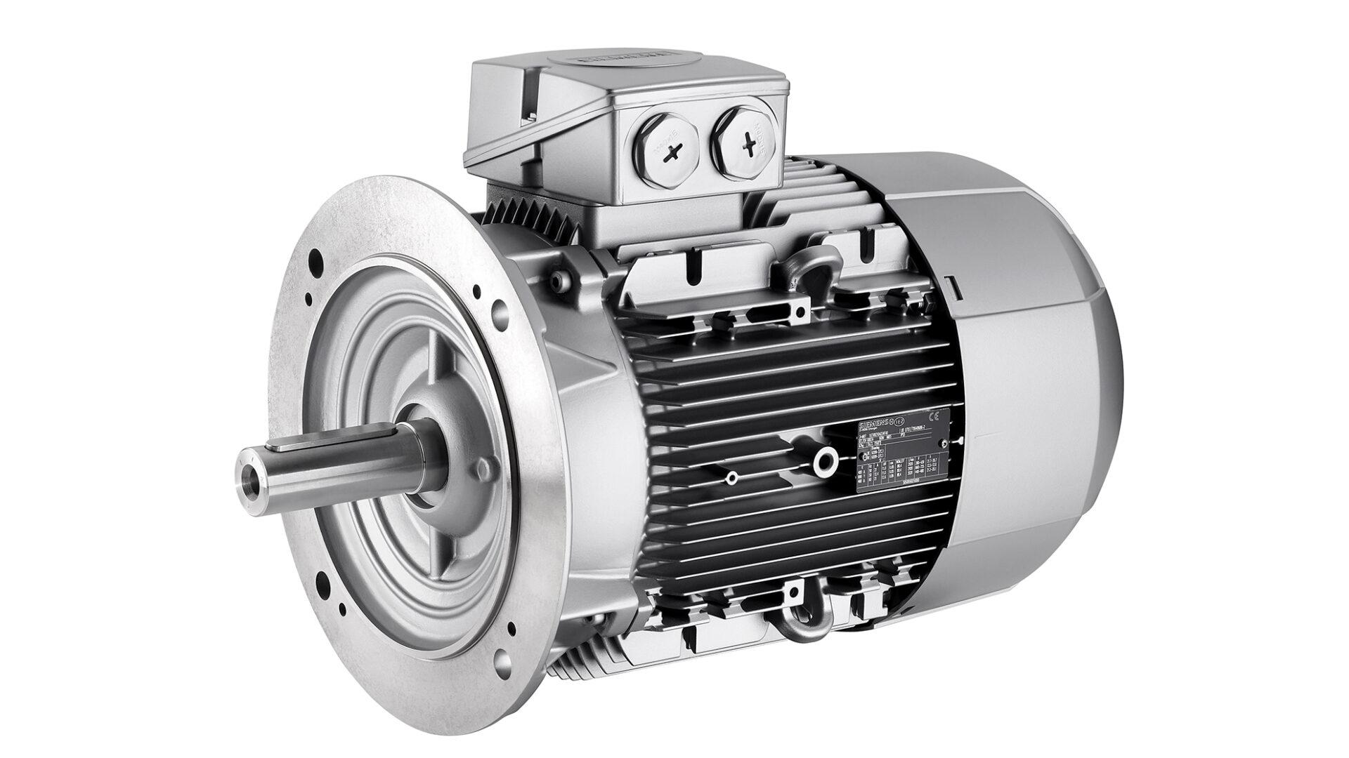 Elmotor från Siemens i B5 utförande