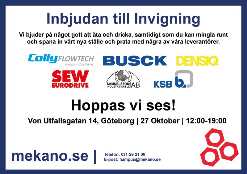 Invigning Göteborg